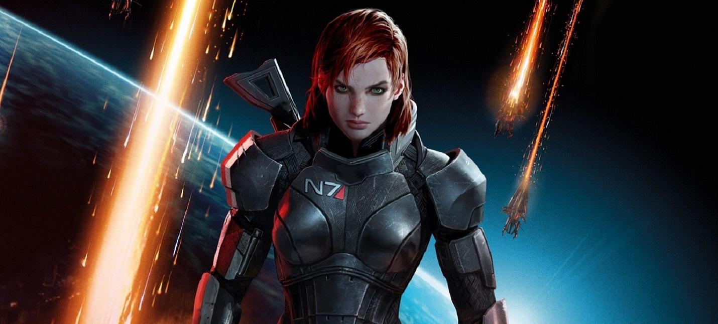 Геймеры нашли самый ранний скриншот женской версии Шепарда из Mass Effect