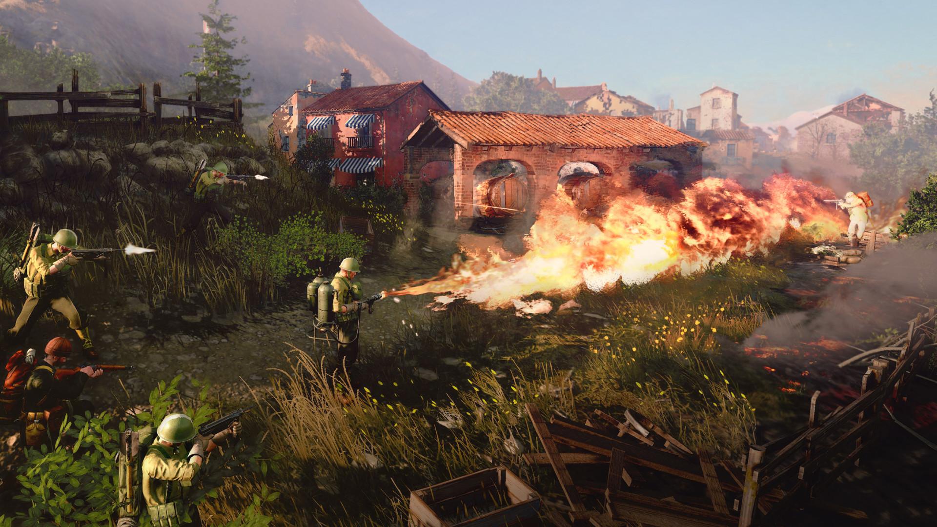 Официально анонсирована Company of Heroes 3: кинематографический трейлер и первый геймплей