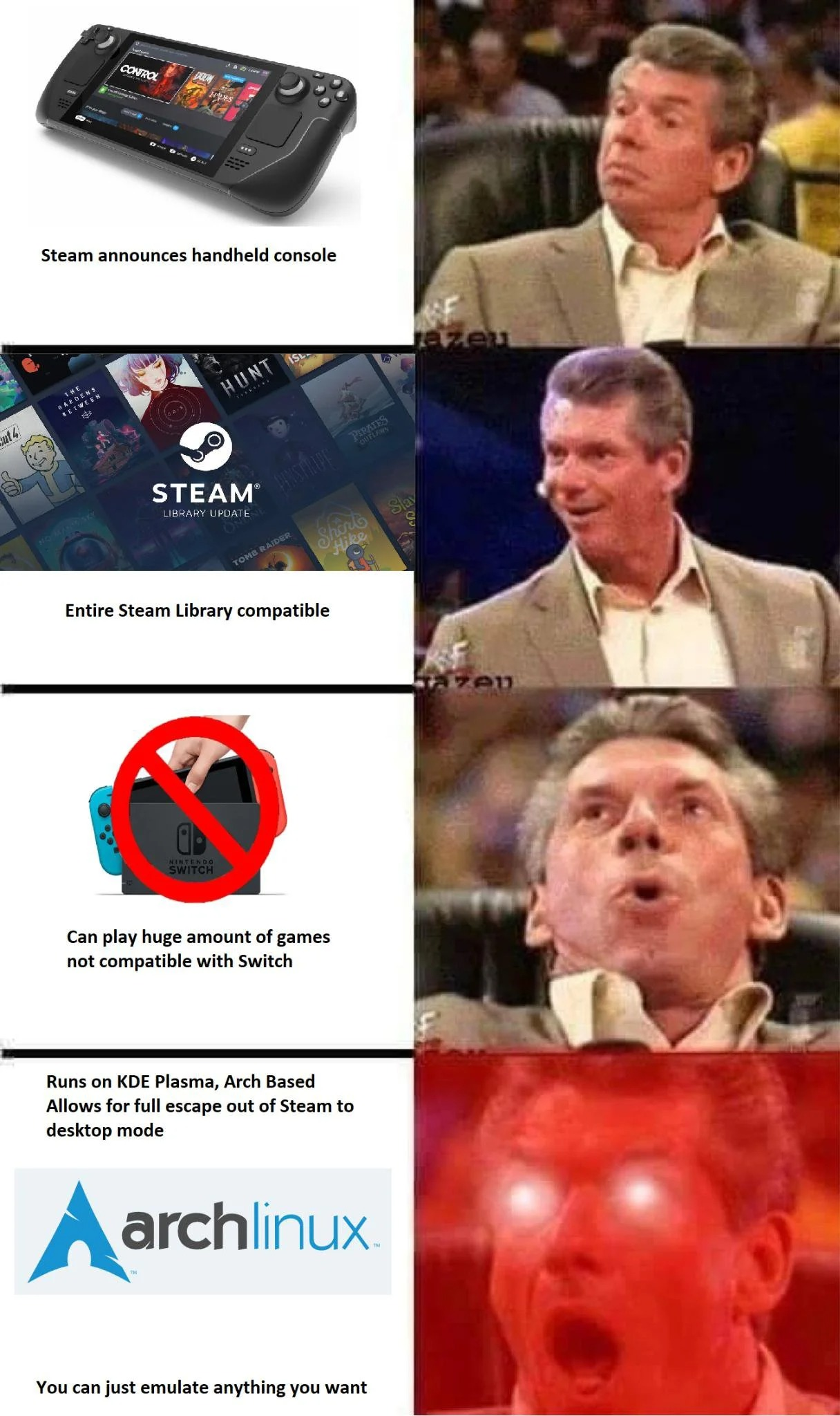Лучшие мемы про Steam Deck — интернет встречает нового короля портативного гейминга
