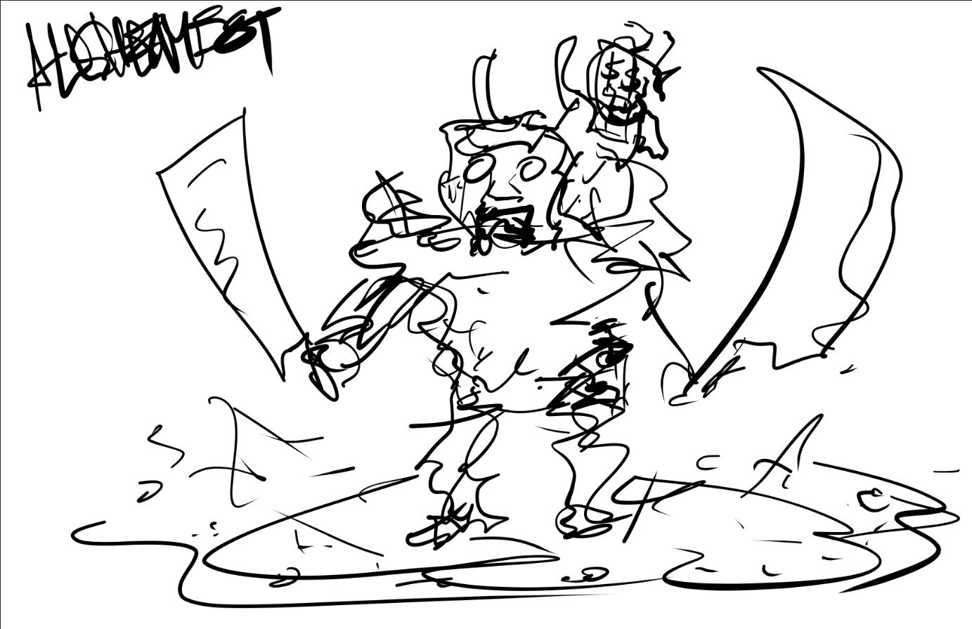 Фанат Dota 2 нарисовал всех героев MOBA — по минуте на каждого