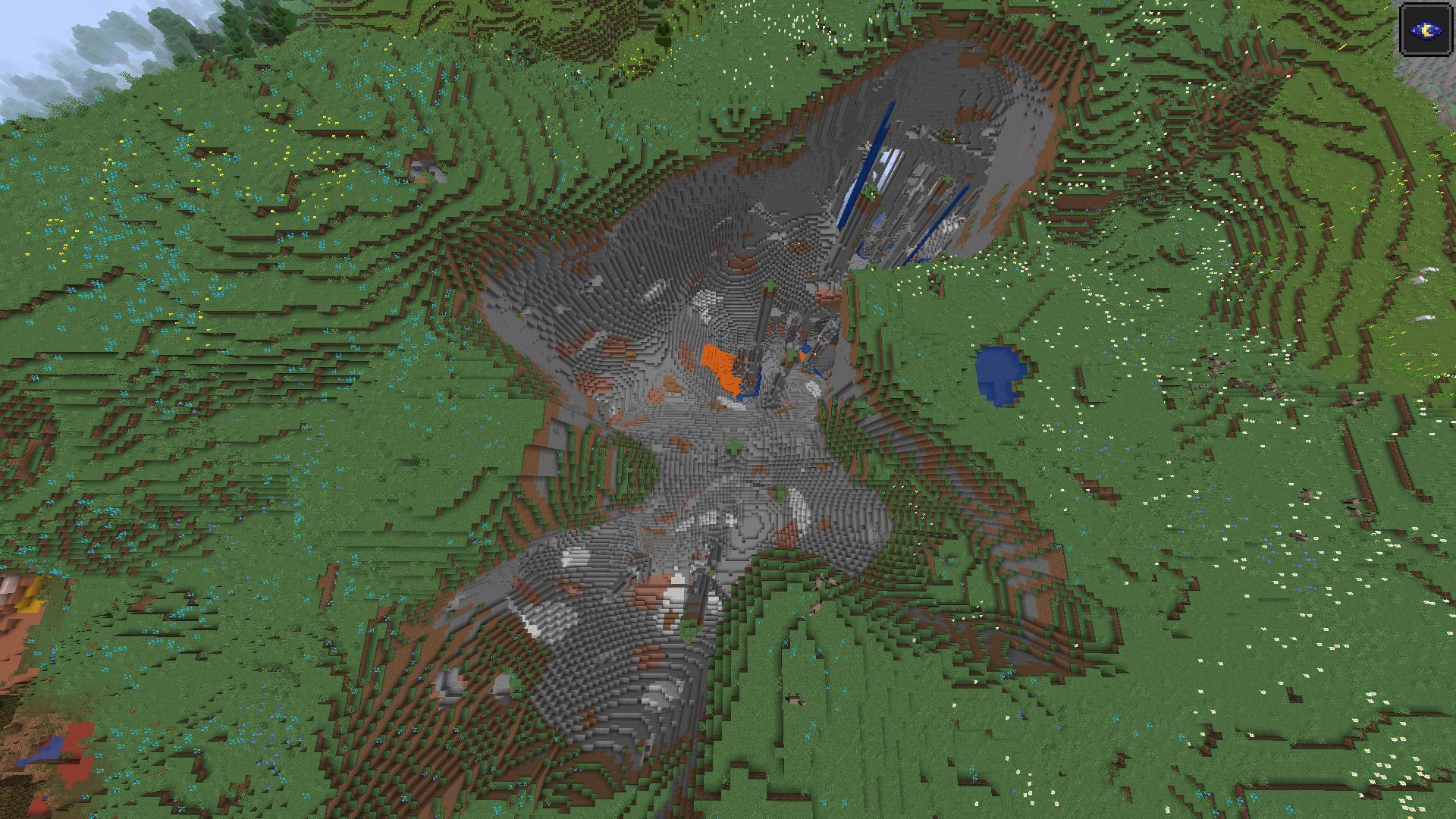 Игроки Minecraft поражены новой системой генерирования ландшафта в бете 1.18