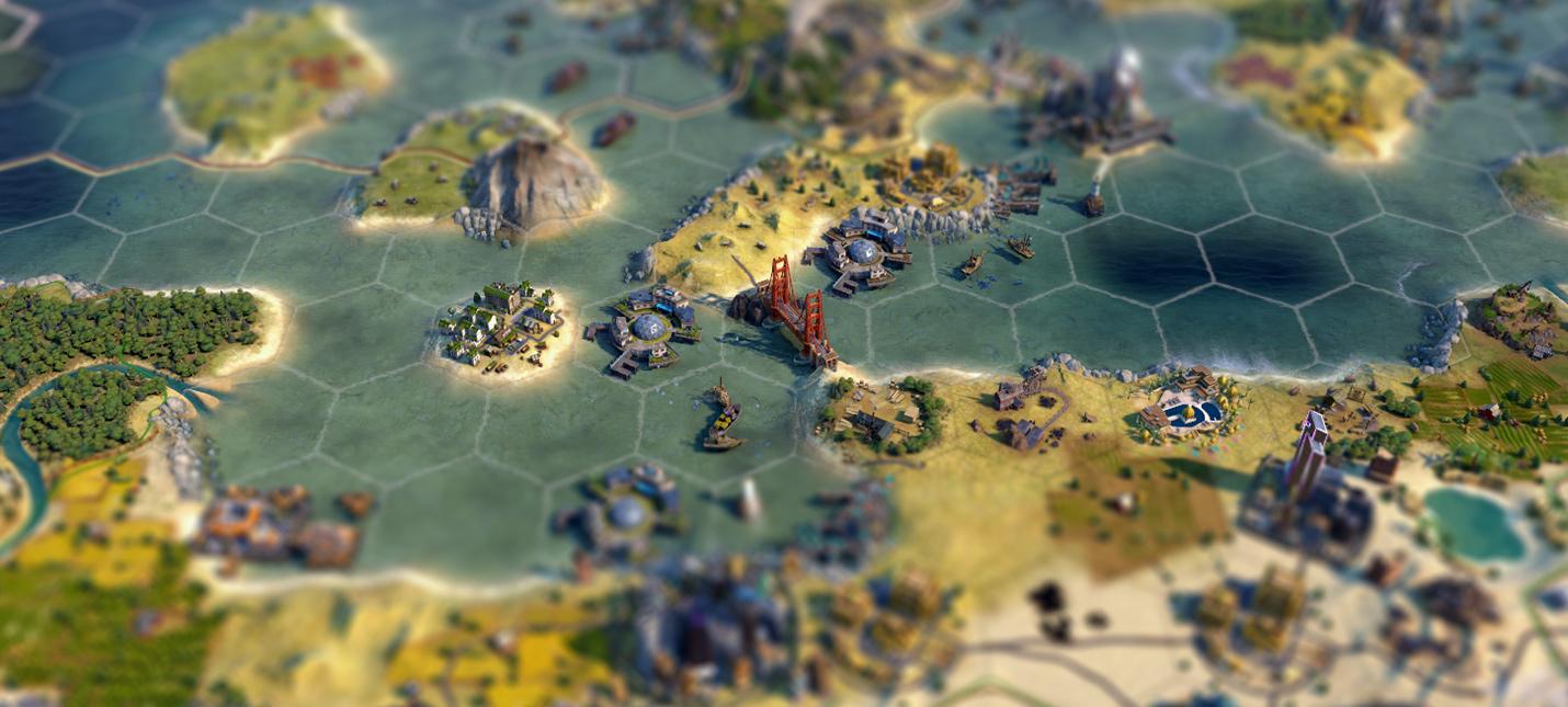 Игрок Civilization 6 похвастался идеальным расположением моста Золотые ворота