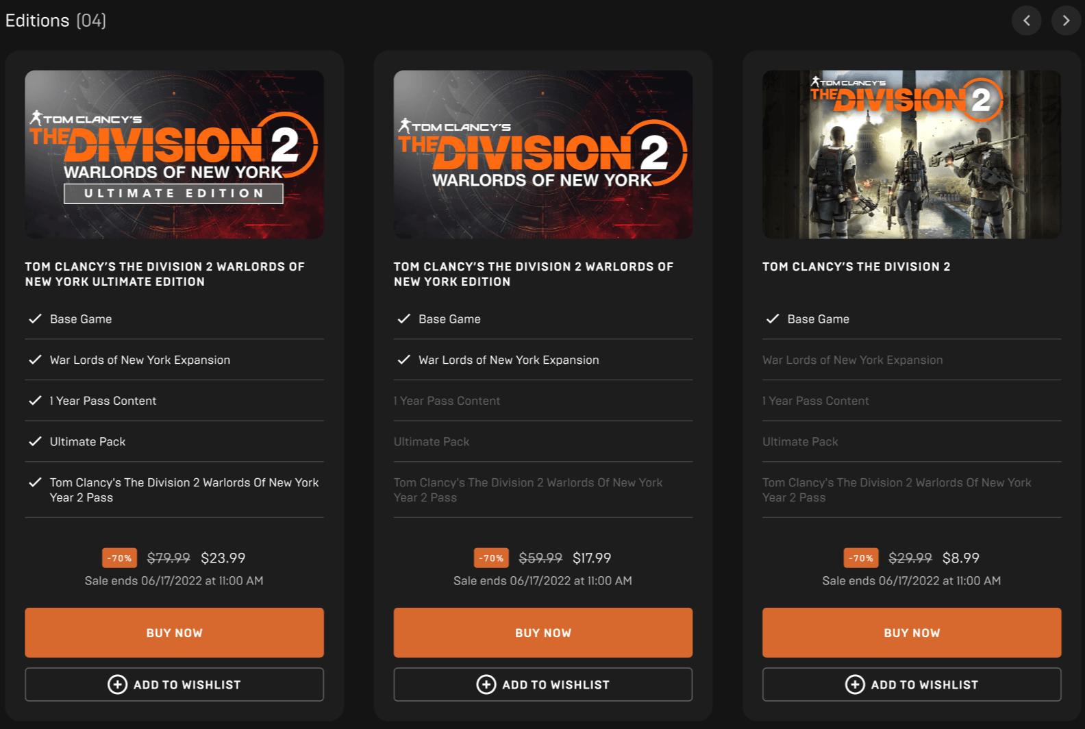Профили пользователей и разделение по жанрам появятся в Epic Games Store в ближайшее время