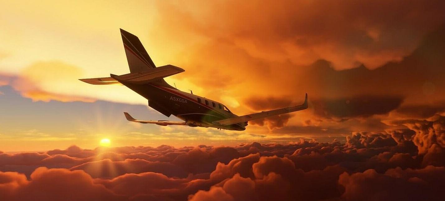Microsoft Flight Simulator на Xbox Series X весит чуть меньше 100 ГБ