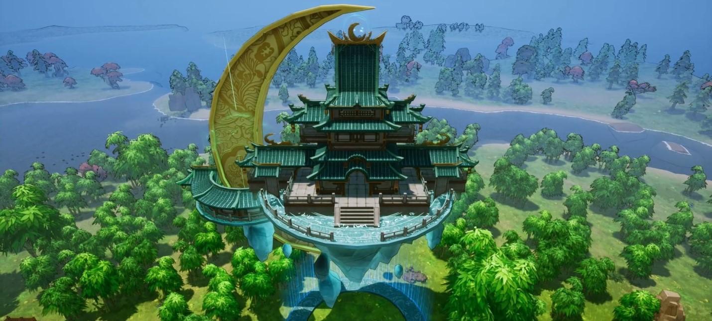 Строительство милого китайского города в релизном трейлере стратегии The Immortal Mayor