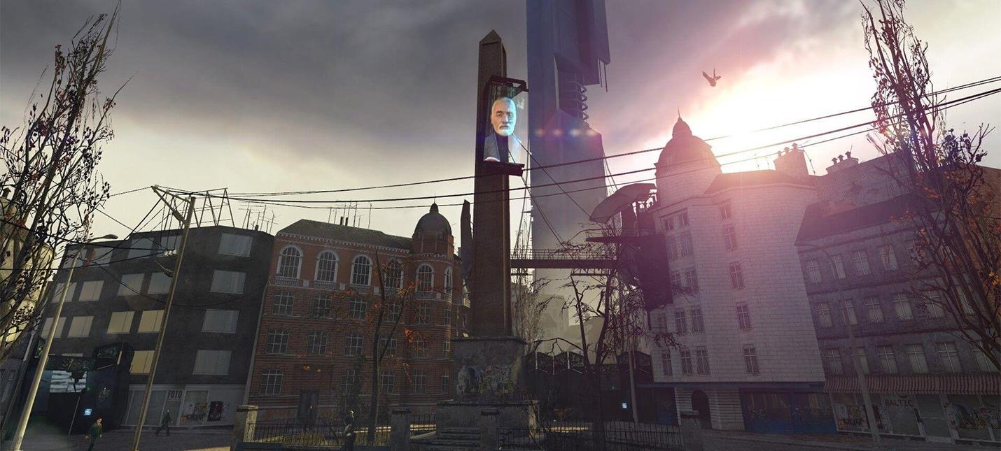 Как выглядит Сити 17 из Half-Life 2, соединенный из отдельных уровней