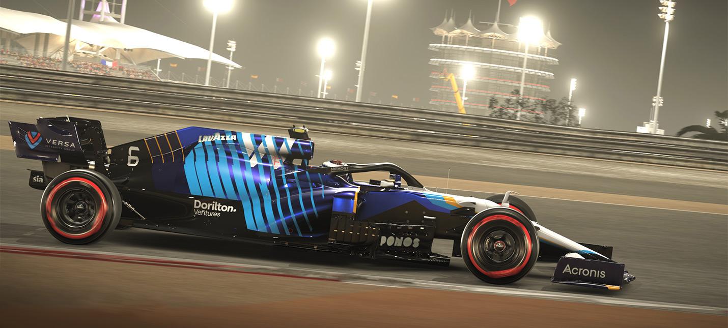 F1 2021 временно лишилась трассировки лучей на PS5 из-за проблем со стабильностью