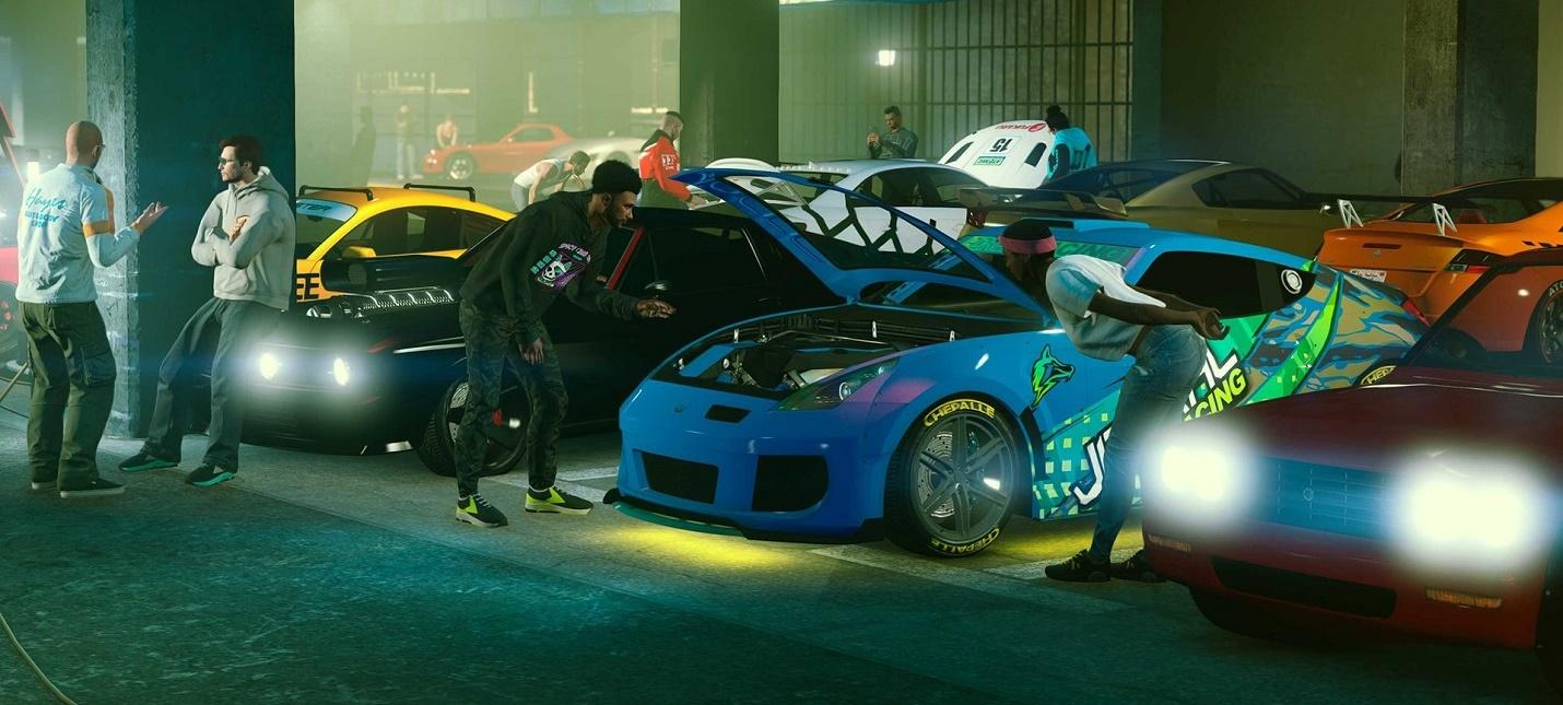 """Сходки автомобилистов и ограбления в стиле """"Форсажа"""" — GTA Online получила обновление Los Santos Tuners"""