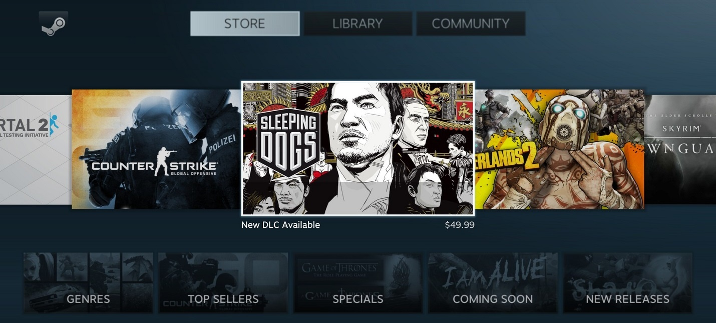 Интерфейс Steam Deck придет на смену режиму Big Picture в клиенте Steam