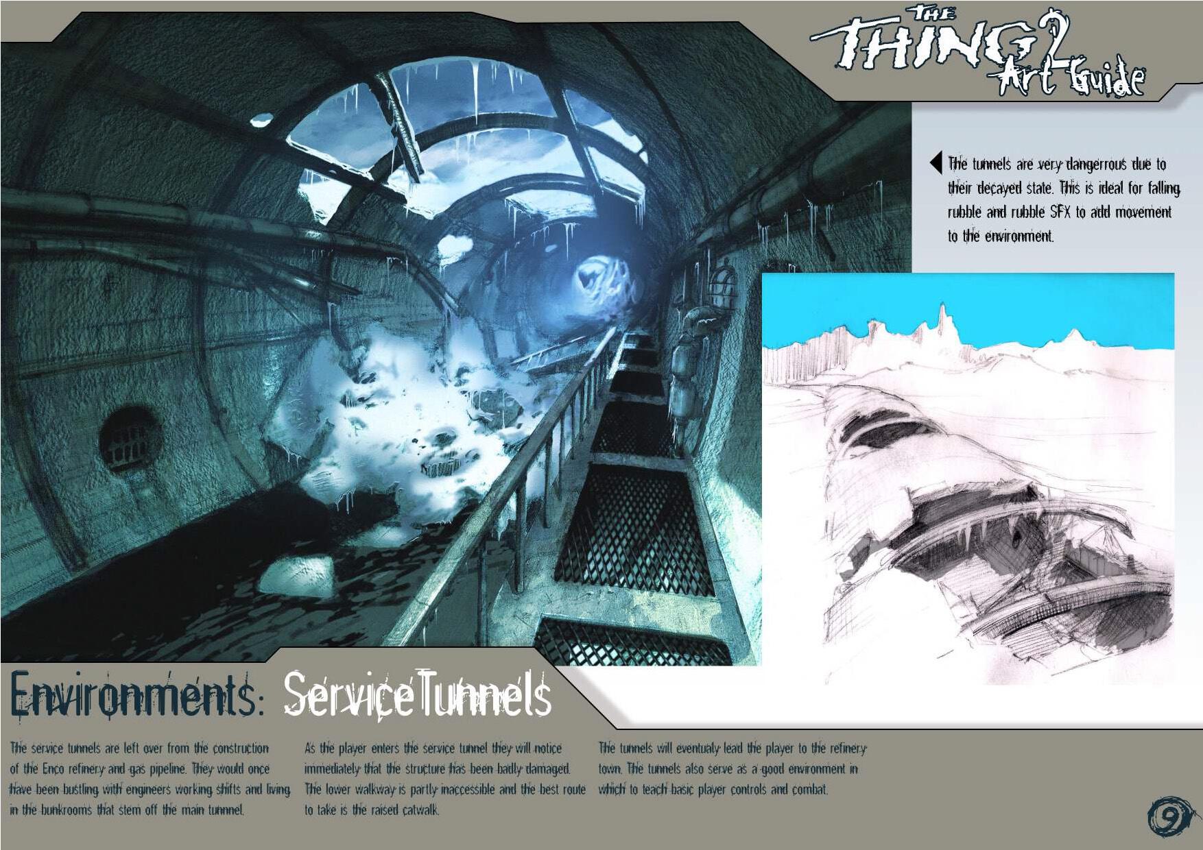 В сети нашли концепты отмененной в 2002 году игры The Thing 2