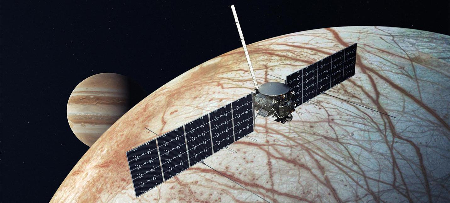 SpaceX запустит на ракете Falcon Heavy миссию NASA к луне Юпитера Европе