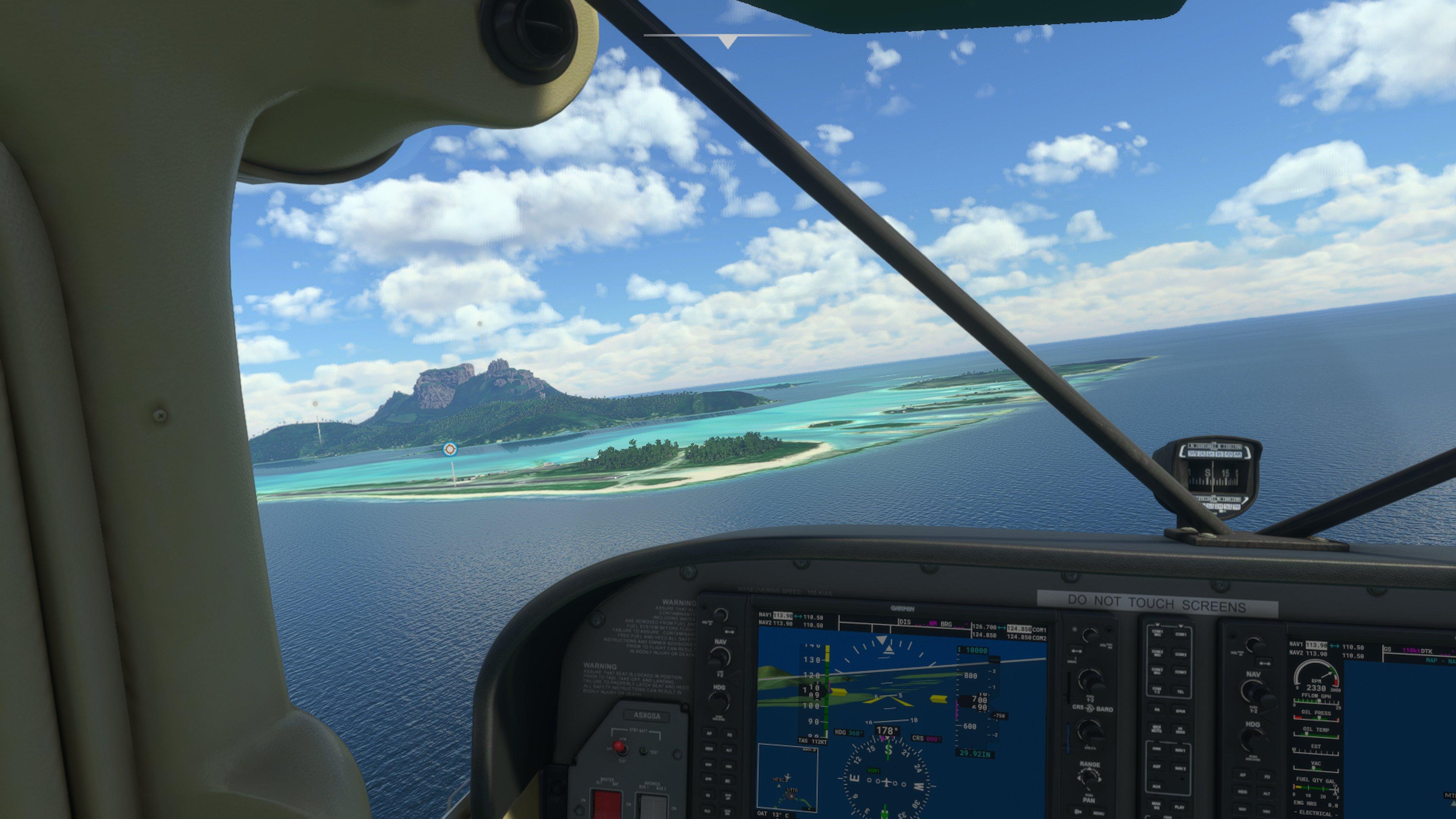 Впечатления от полетов в Microsoft Flight Simulator на Xbox Series X