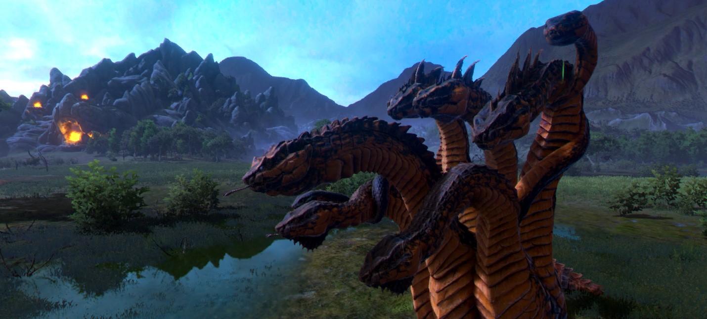 Для Total War Saga Troy выпустят обновление с мифическими созданиями