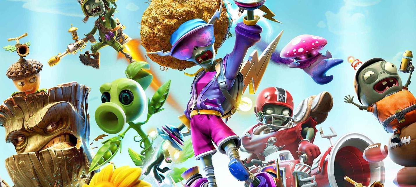 Plants vs. Zombies Battle for Neighborville, Hunters Arena Legends и Tennis World Tour 2  подборка PS Plus на август