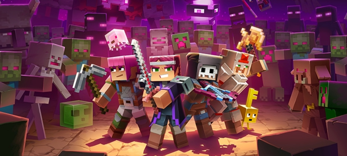 Релизный трейлер дополнения Echoing Void для Minecraft: Dungeons