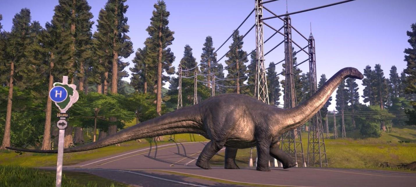 Менеджмент ученых в новом трейлере Jurassic World Evolution 2