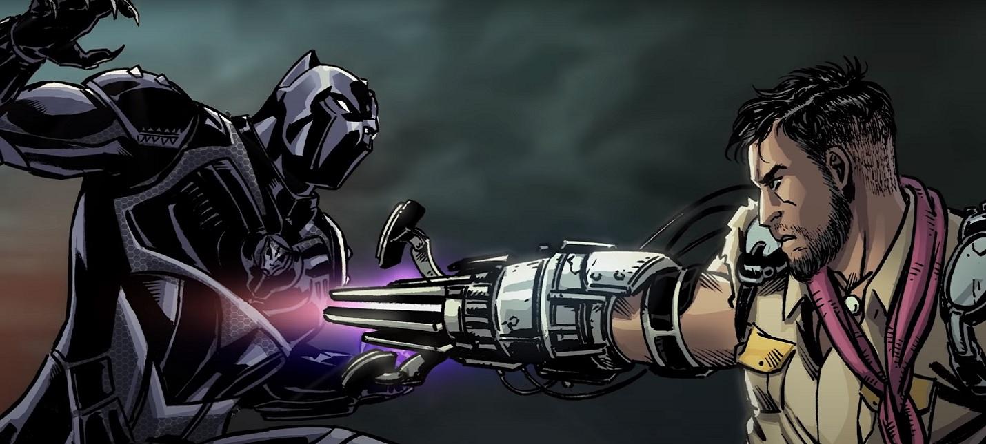 Правители Ваканды в анимационном трейлере Marvel's Avengers