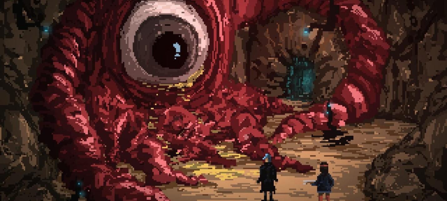 Состоялся релиз мрачной пиксельной ролевой игры Death Trash, напоминающей первые Fallout