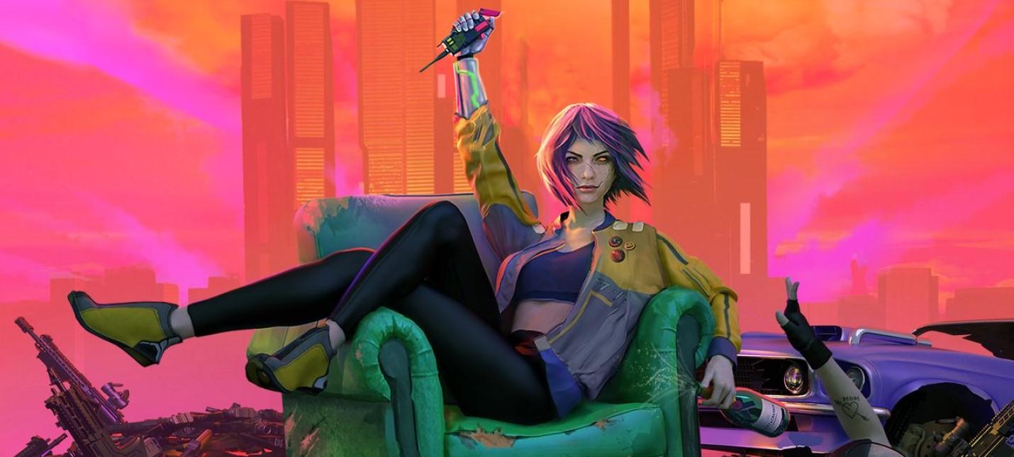 Мрачное будущее и геймплей в стиле первых GTA в релизном трейлере Glitchpunk