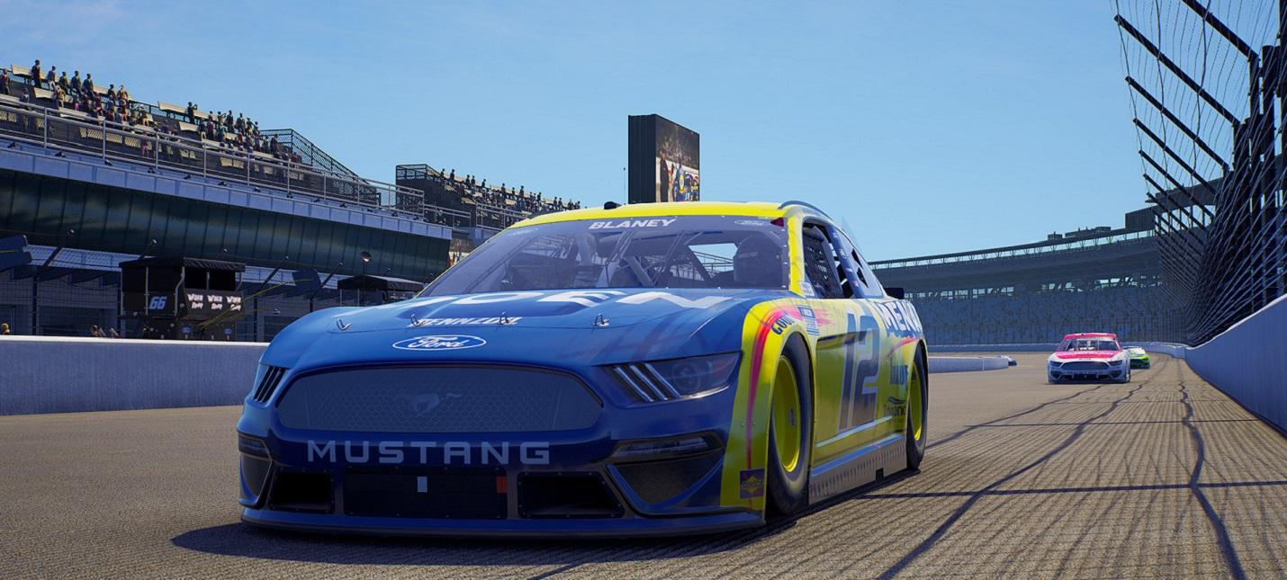 Гонки по кругу в трейлере NASCAR 21 Ignition