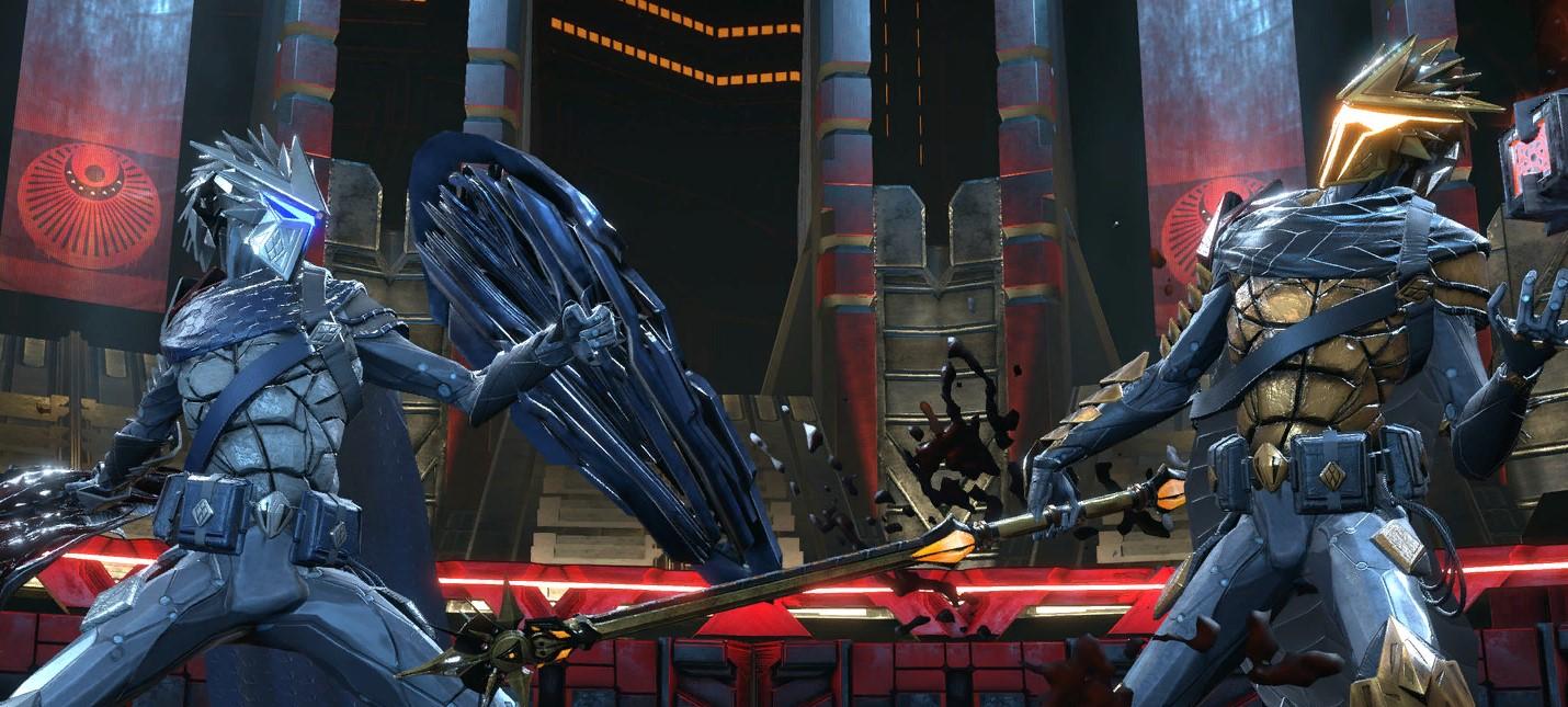 Первые скриншоты дополнения Blue Sun к фантастическому экшену Hellpoint