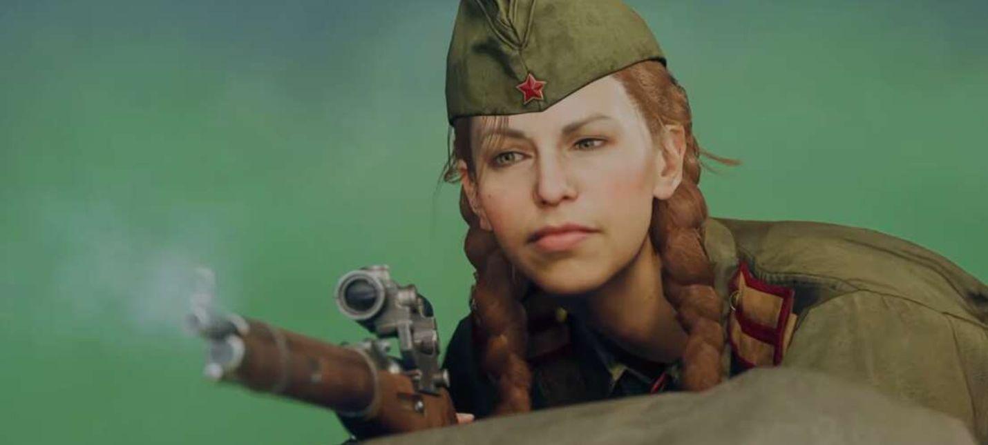 В Call of Duty: Warzone начали тизерить следующую часть серии — советский снайпер убивает игроков