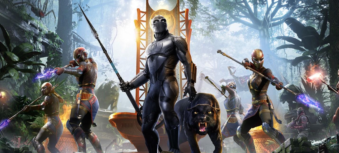 Месть и Черная пантера в трейлере дополнения War for Wakanda для Marvels Avengers