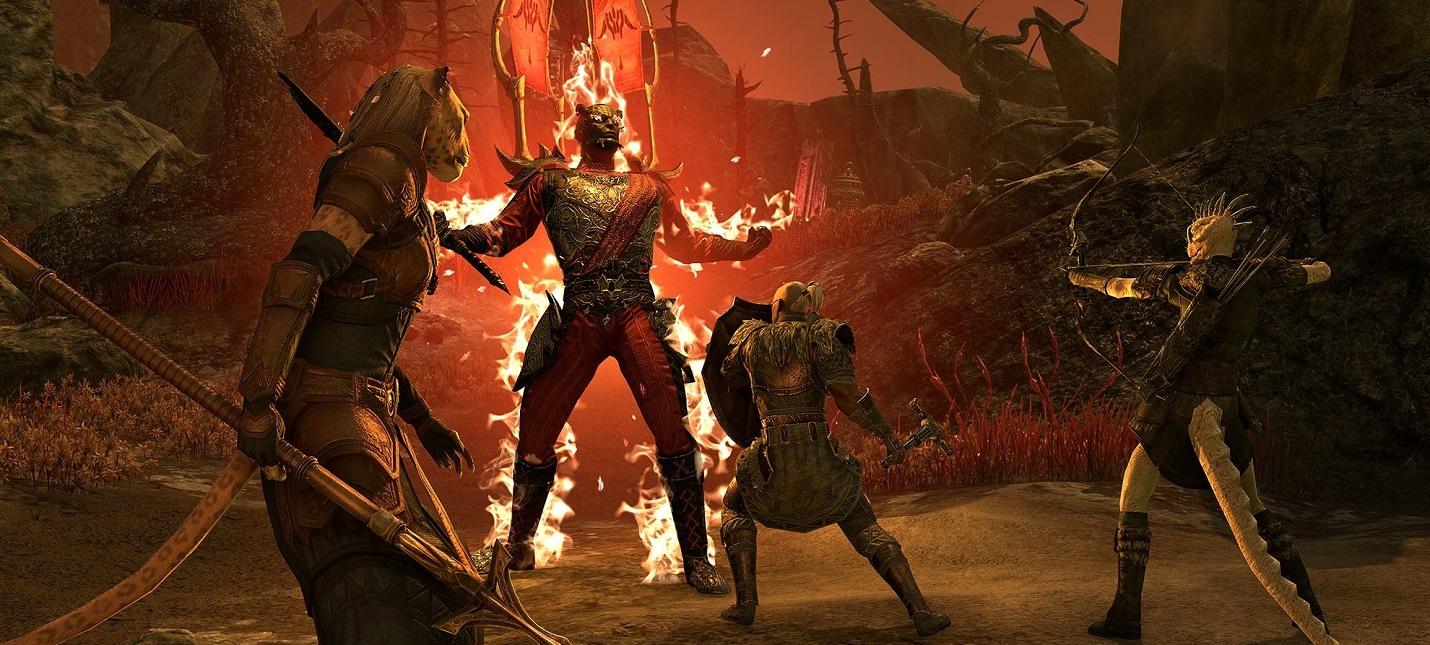 """Дополнение """"Пробуждающееся Пламя"""" для консольной версии The Elder Scrolls Online отложили до 8 сентября"""