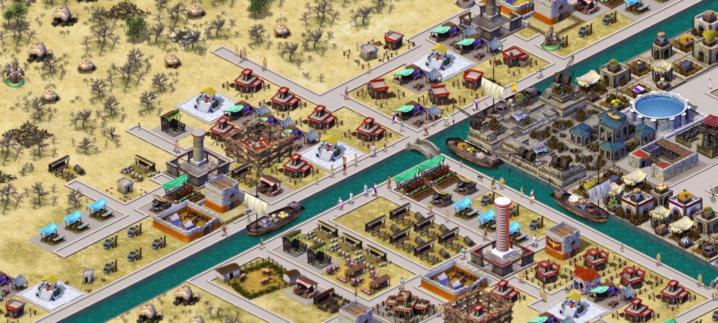 Совместное строительство римского города в первом дневнике MMO-стратегии Romans Age of Caesar