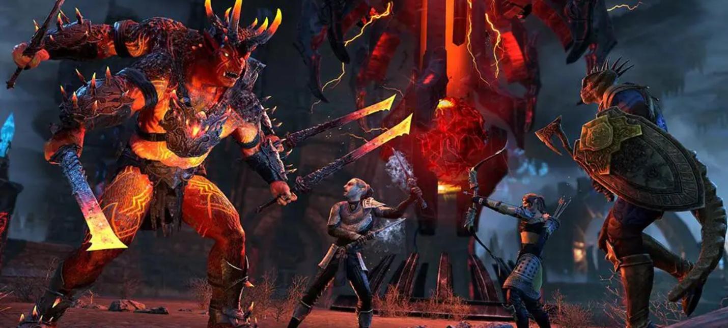 Геймплейный трейлер дополнения Пробуждающееся Пламя для The Elder Scrolls Online
