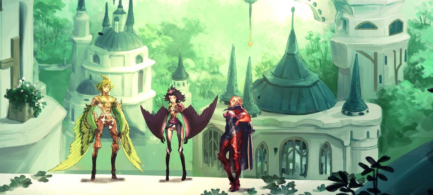 Свежие геймлейные кадры Astria Ascending от создателей Final Fantasy