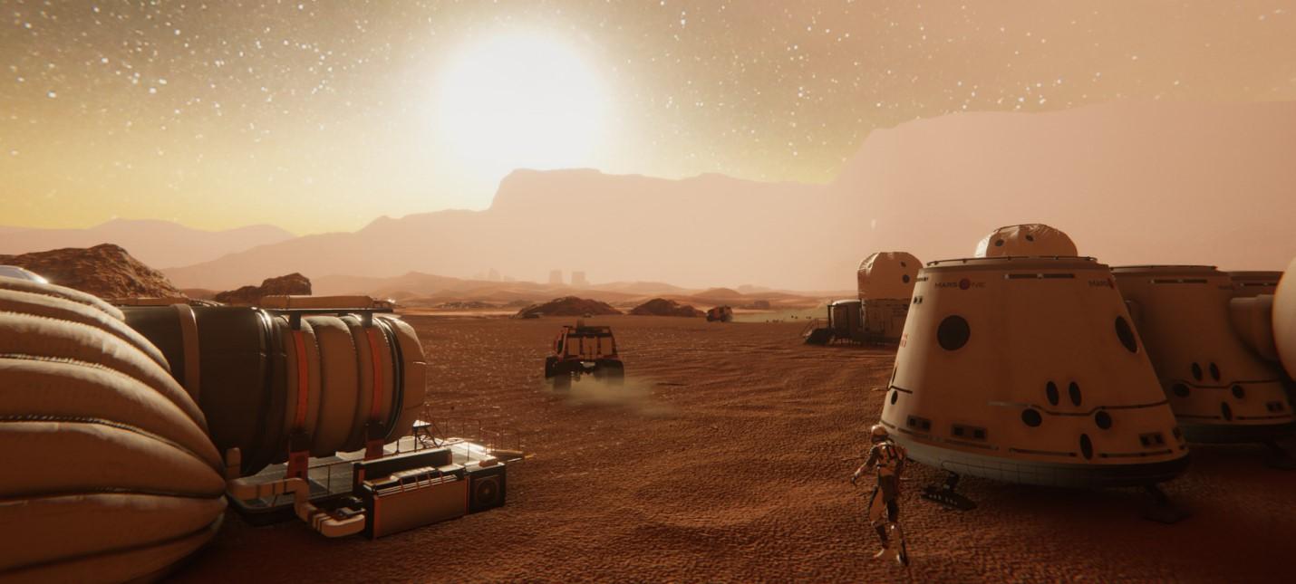 Терраформирование и развитие Марса в трейлере градостроительной стратегии Mars Colony Builder