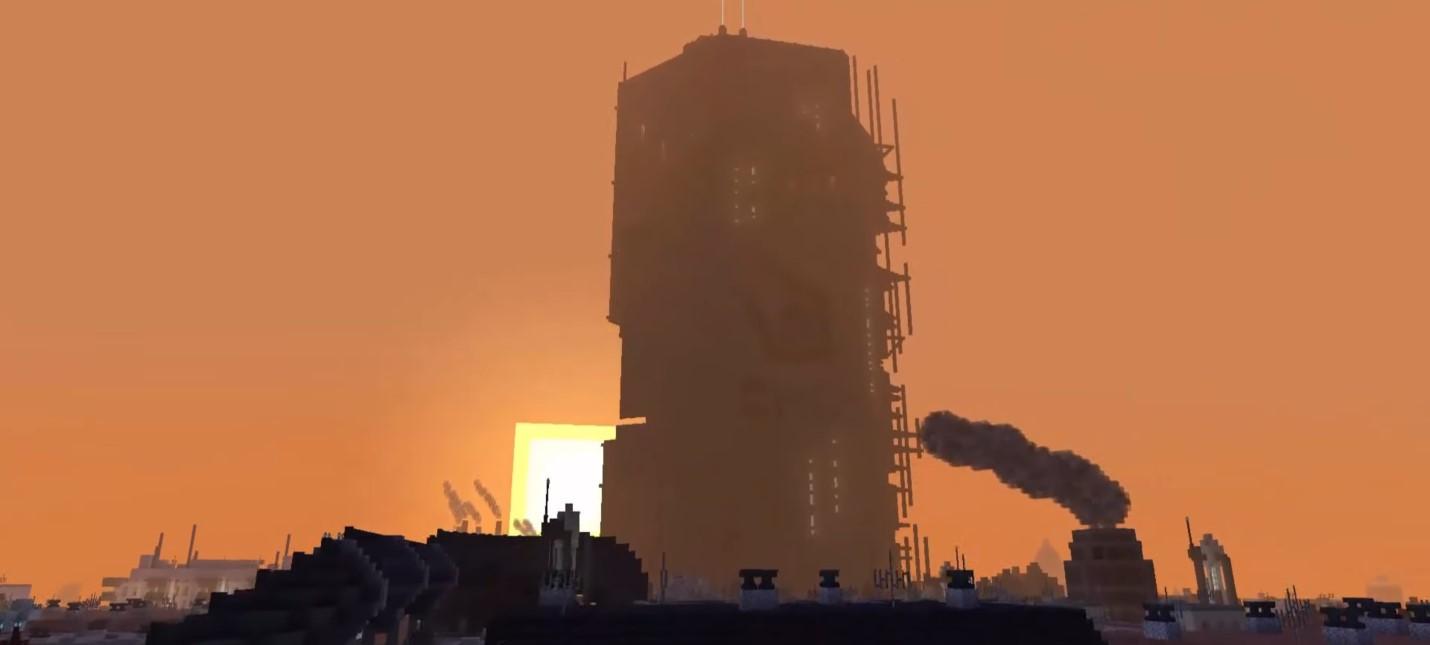 Энтузиасты потратили пять лет на воссоздание всей Half-Life 2 в Minecraft