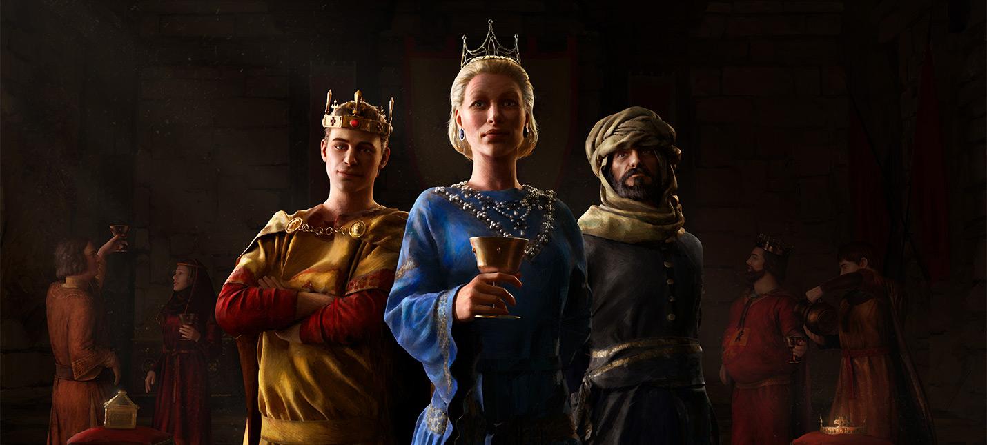 Crusader Kings 3 анонсирована на Xbox Series S|X и PS5