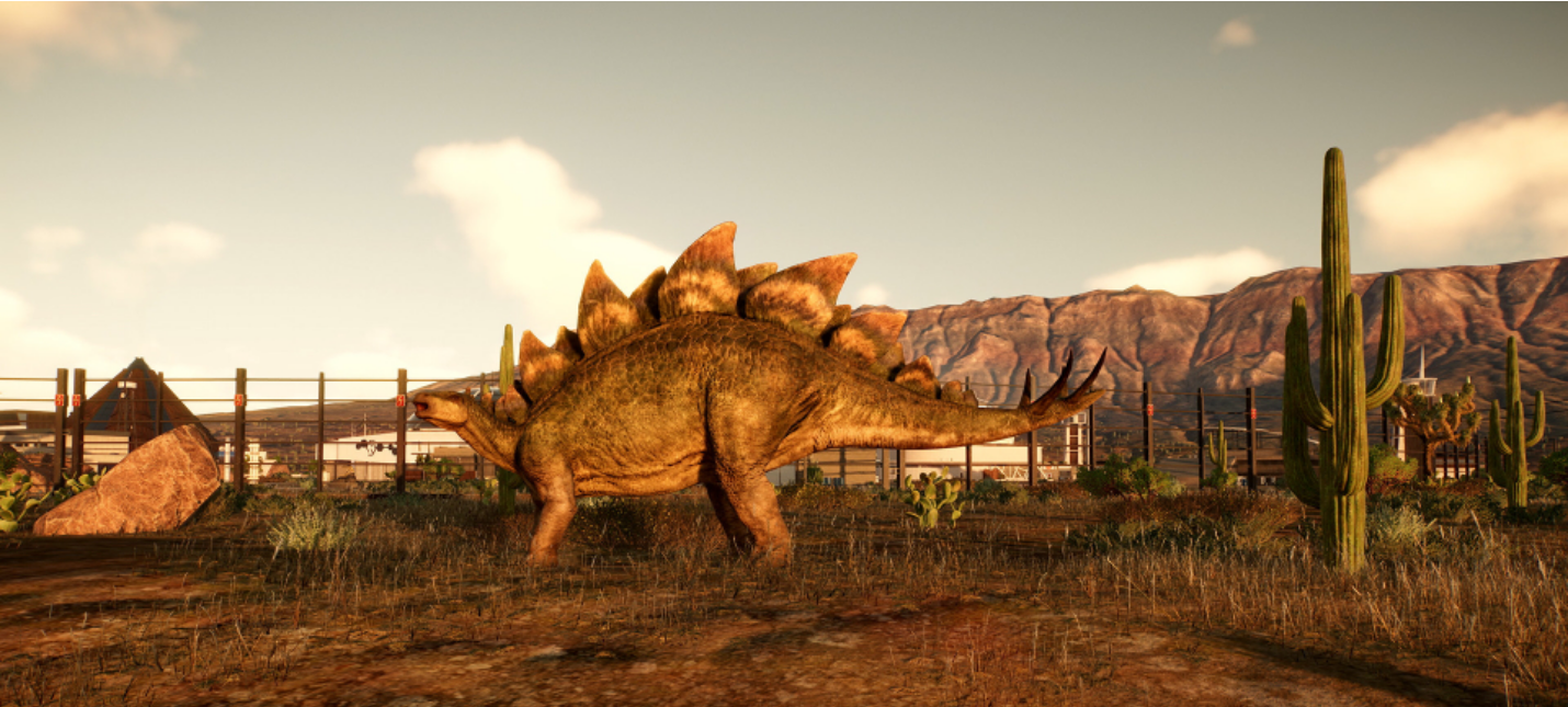 Снег, горы и морские динозавры в геймплее Jurassic World Evolution 2