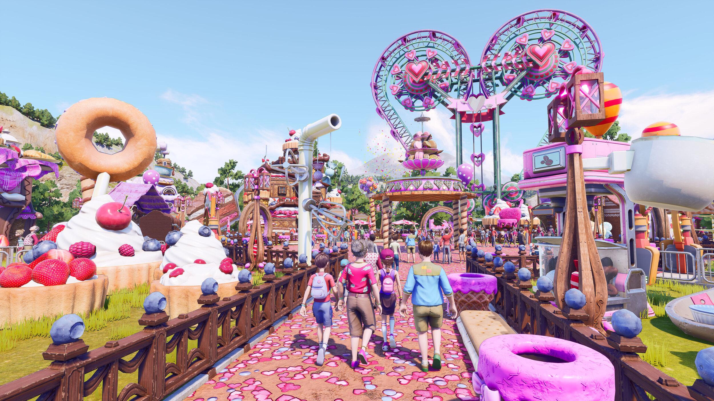 В менеджере парка аттракционов Park Beyond не получится убивать посетителей — и другие факты об игре