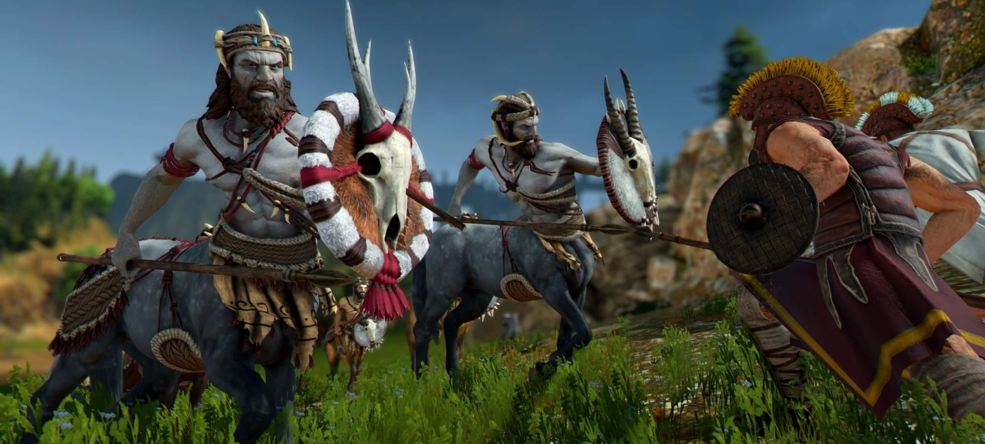 Цербер, призраки и минотавр в трейлере дополнения Mythos для Total War Saga Troy