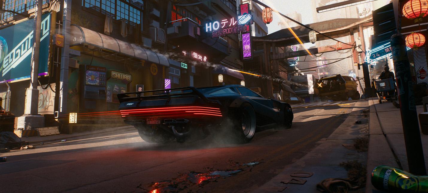 Моддер перенёс часть Найт-Сити в GTA 5
