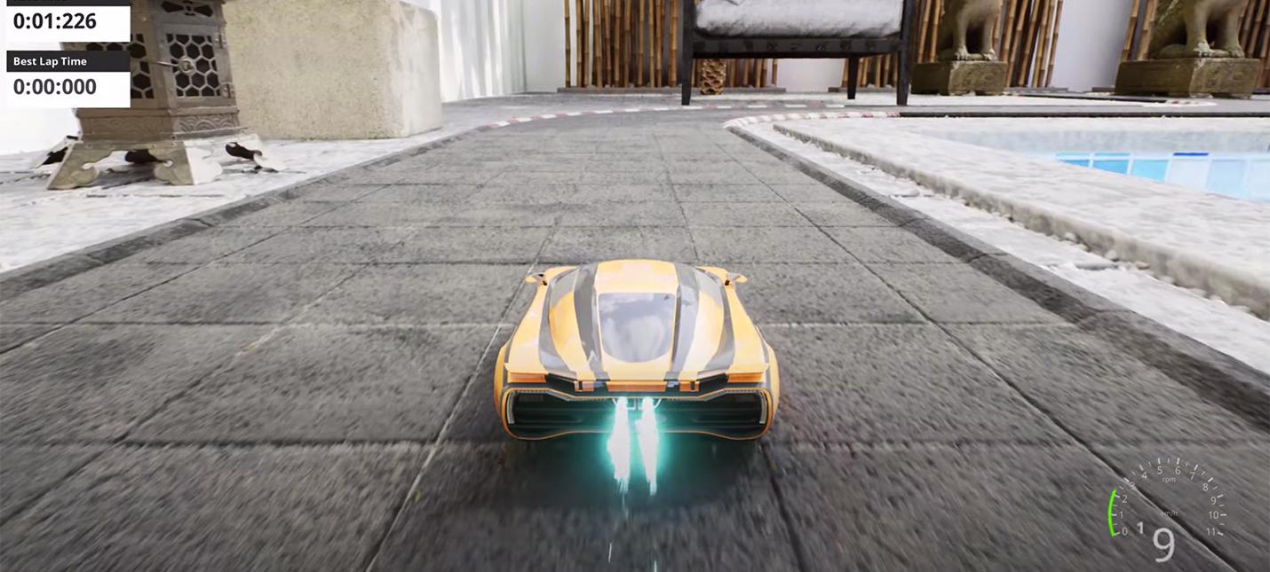 Гоночный симулятор Nano Racing использует движок Unreal Engine 5  смотрите геймплей