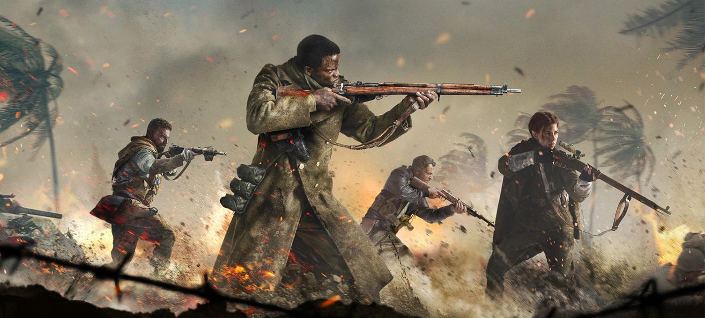 60 минут мультиплеерного геймплея Call of Duty: Vanguard на PS5