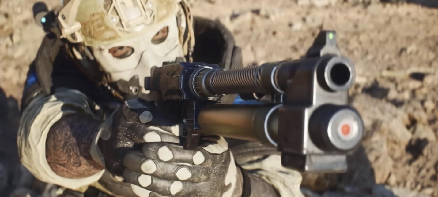 Видео с демонстрацией оружия из альфы Battlefield 2042