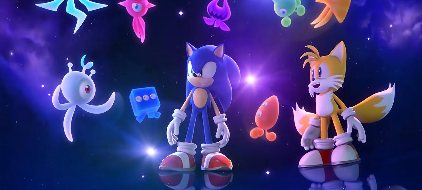 Первые 6 минут геймплея Sonic Colors: Ultimate