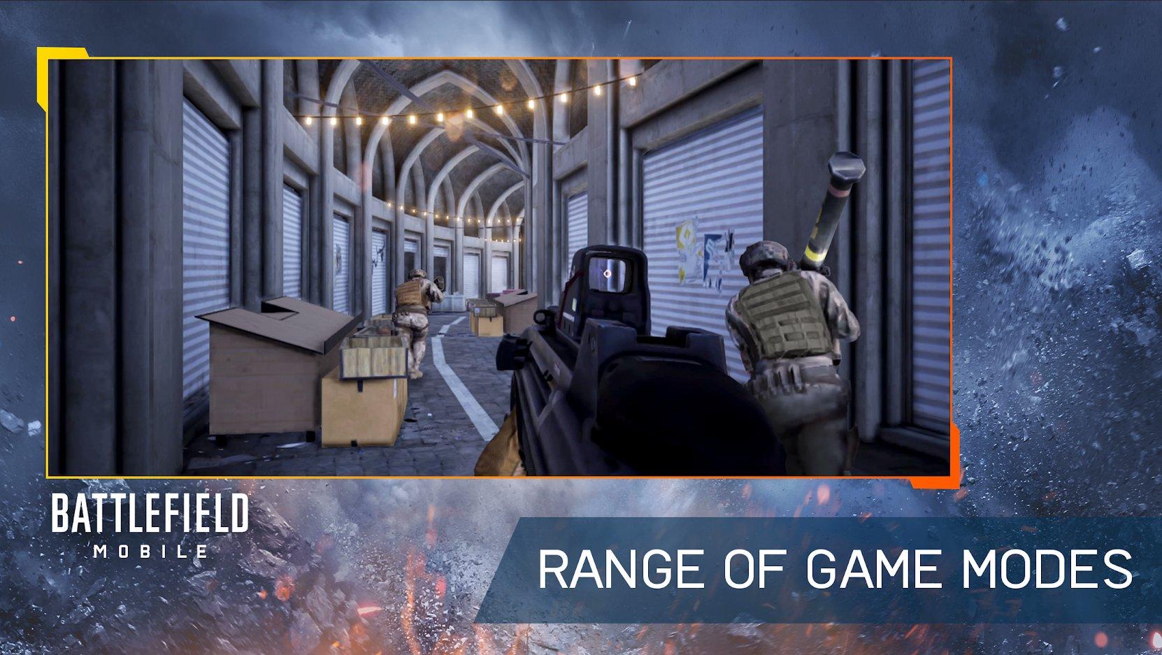 В Google Play появилась страница Battlefield Mobile