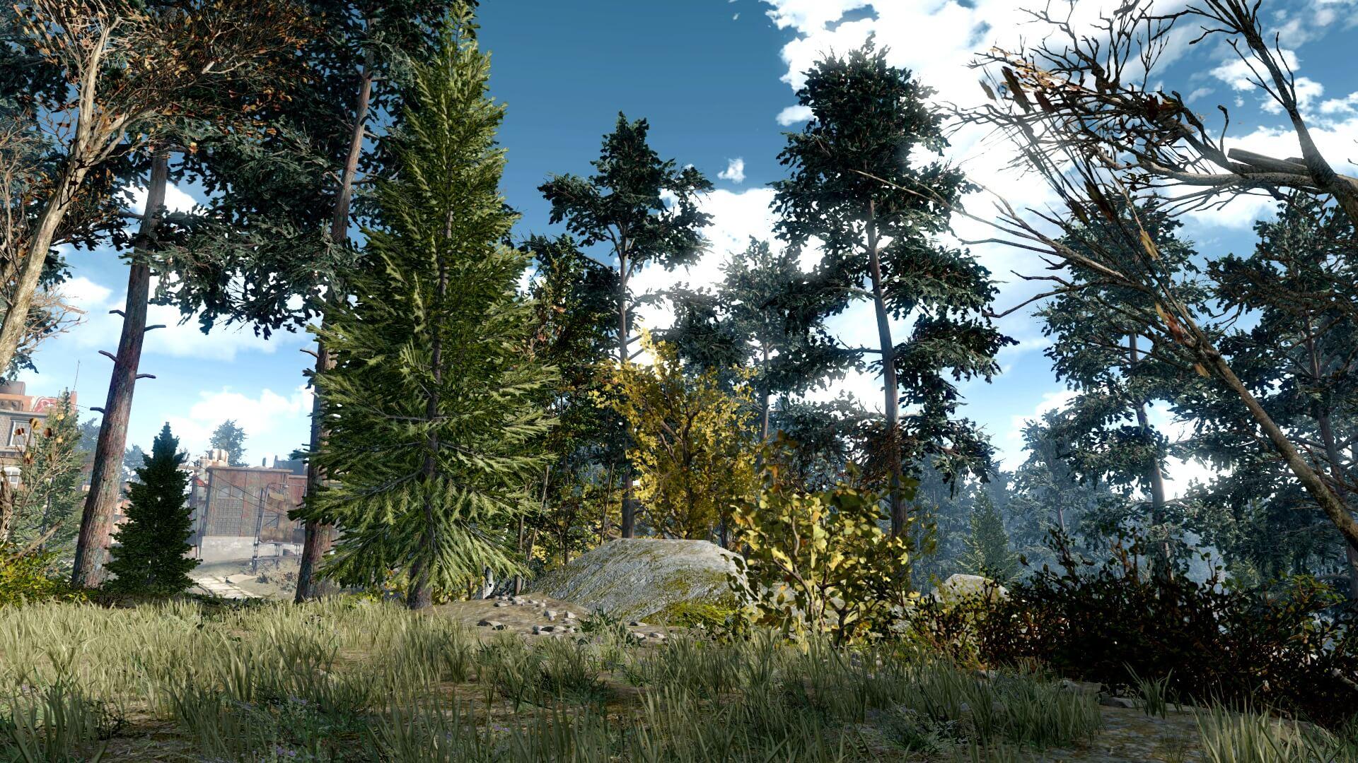Моддер добавил 18 тысяч деревьев в Fallout 4