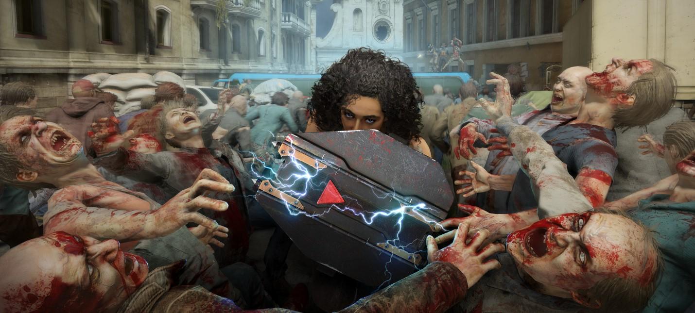 Отстрел римских зомби в геймплее World War Z Aftermath с видом от первого лица
