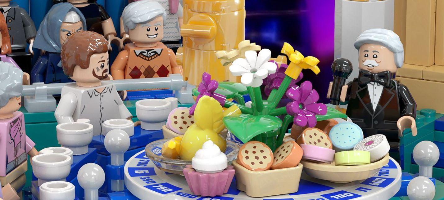 """Российский художник показал набор """"Поле Чудес"""" в стиле LEGO"""