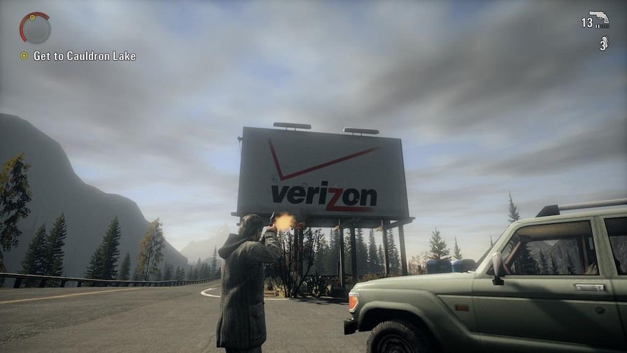 В ремастере Alan Wake не будет продакт-плейсмент рекламы