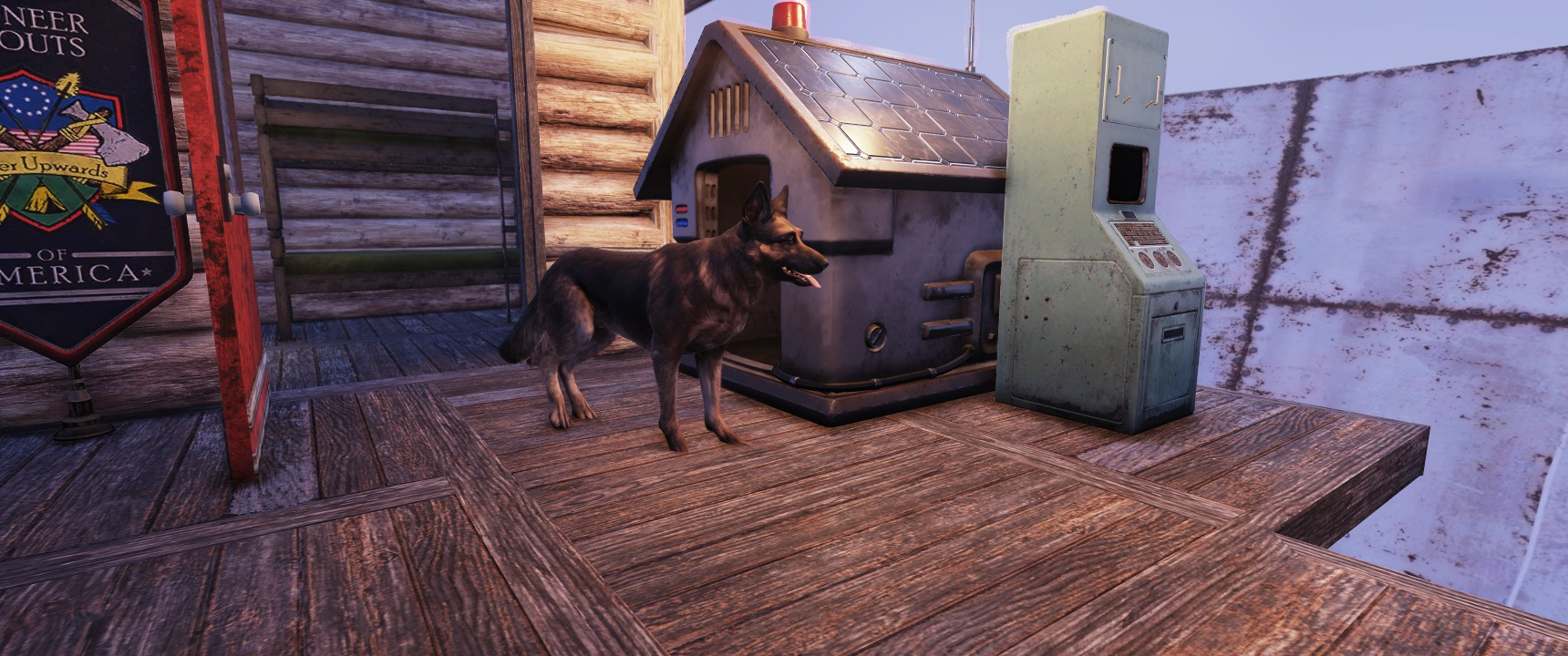 Фанаты добавили Псину в Fallout 76