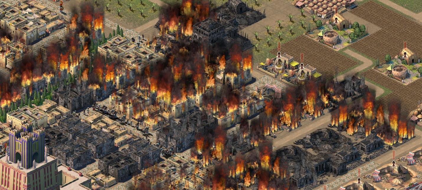 В градостроительную стратегию Nebuchadnezzar добавили пожары и преступления