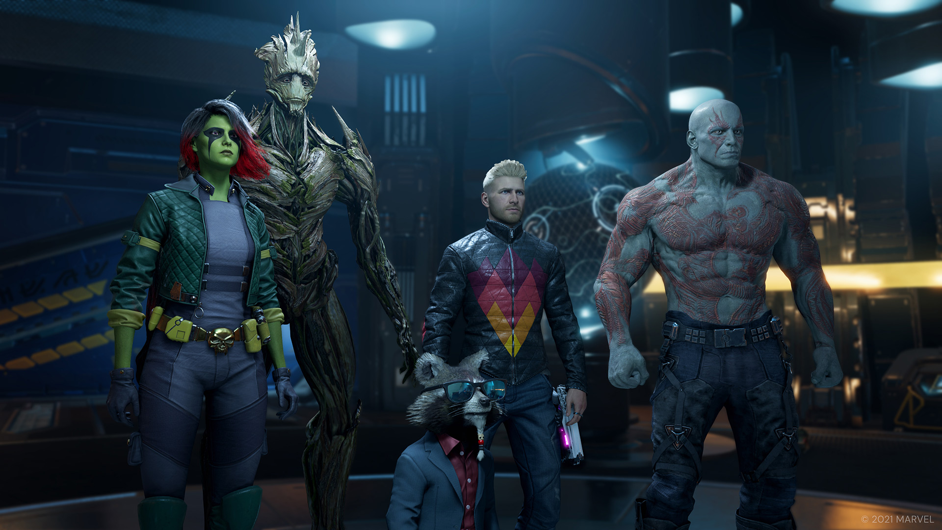 Впечатления после пары часов в Marvel's Guardians of the Galaxy